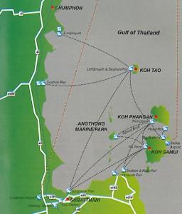 Anreise Koh Phangan