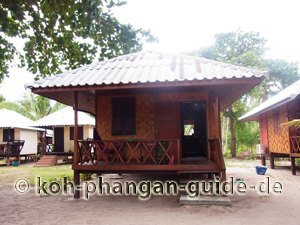 Typische Thailand Unterkunft