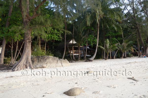 Hütten am Haad Khom Strand
