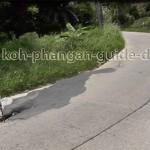 Straße Koh Phangan