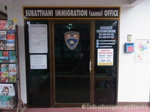 Immigration Office auf Koh Samui.