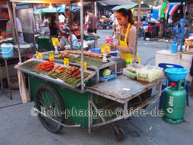 Essensstand auf dem Food Market