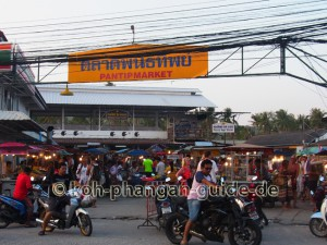 Food Market Thong Sala