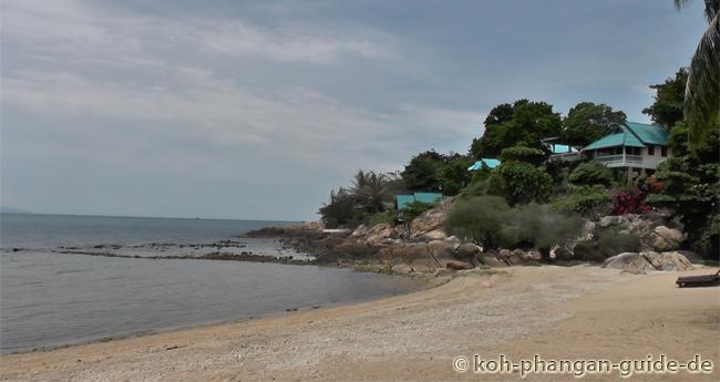 Rechte Strandseite