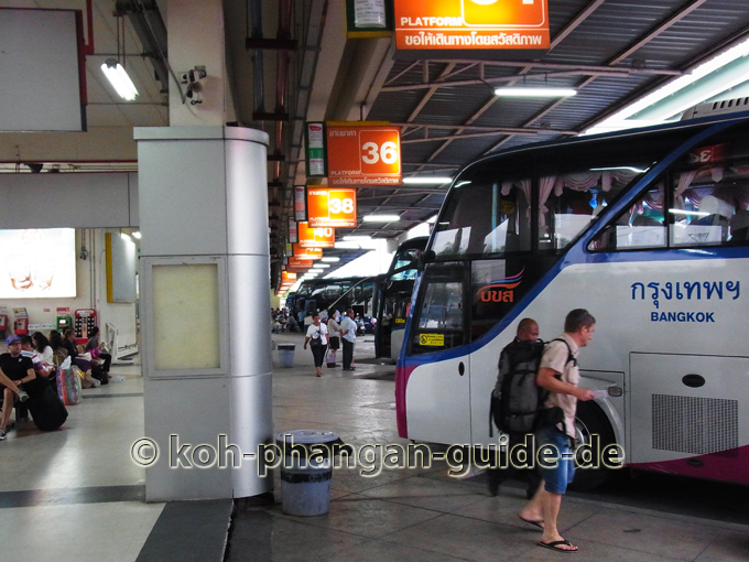 Bangkok New Southern Bus Te