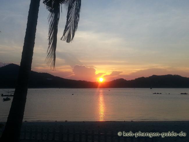 Sonnenuntergang Chaloklum.