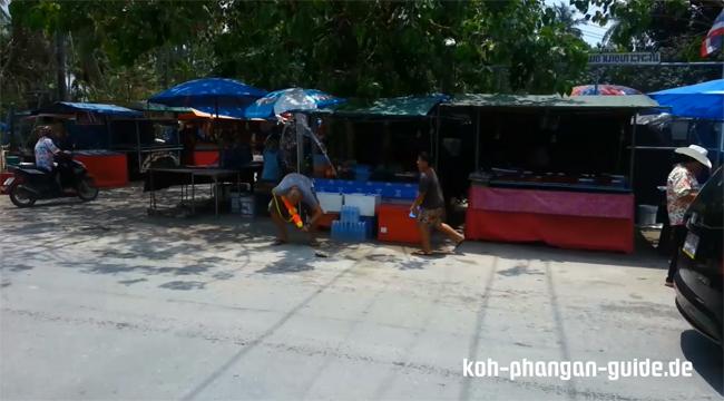 Meine Wasserdusche an Songkran.