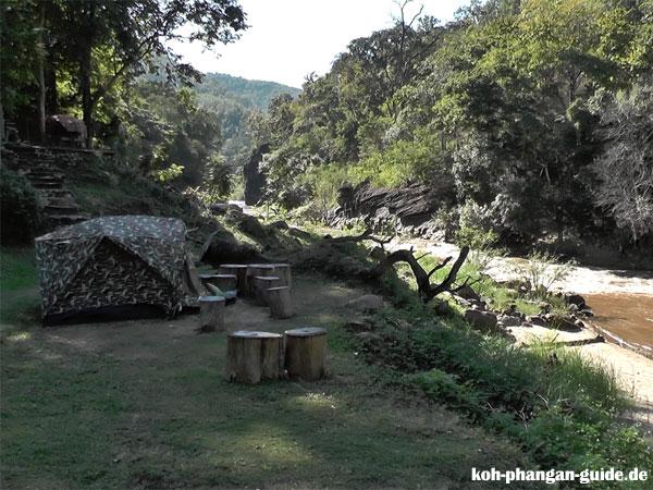 Camping im Ob Luang Nationalpark