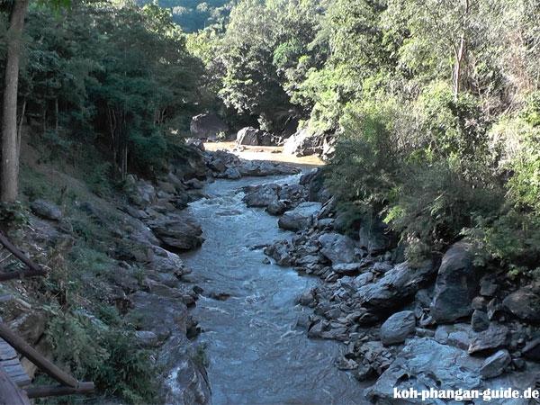 Fluss im Ob Luang Nationalpark