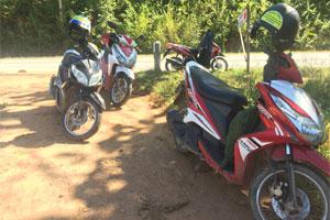 Unsere Roller für den Mae Hong Son Loop